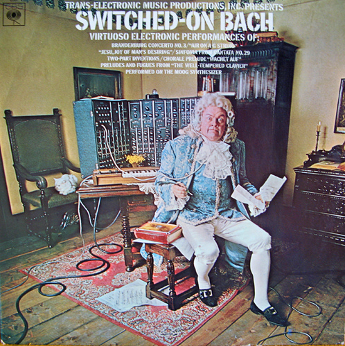 Switched-On Bach обложка
